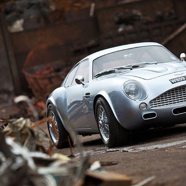 L'Aston Martin DB4 GT Zagato revisitée par Evanta