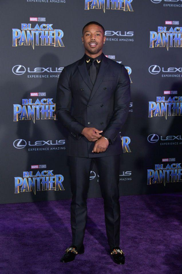 9e0403961a3 Michael B. Jordan @ the Black Panther premiere | Wedding Inspiration ...