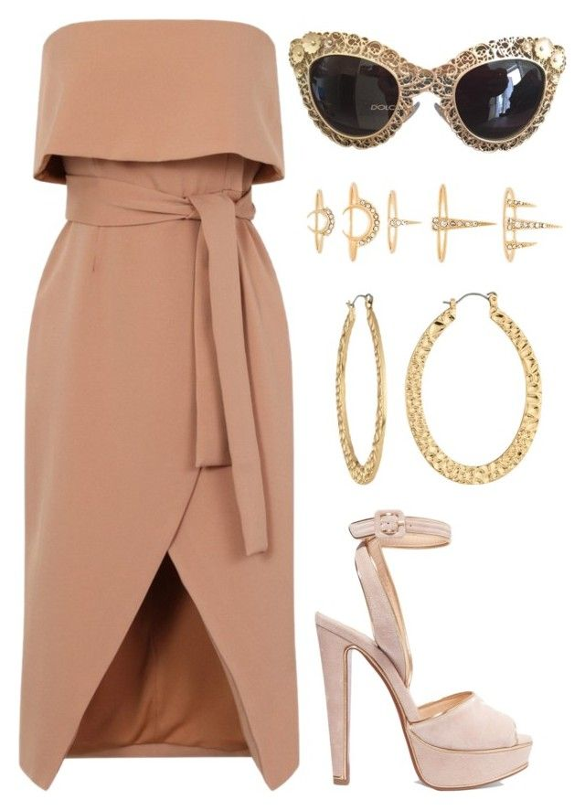 Untitled #668 by madelin-ruby on Polyvore featuring polyvore fashion style Christian Louboutin Fragments Luv Aj Dolce&Gabbana clothing