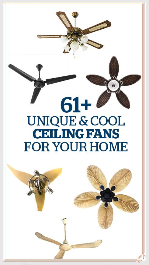 25 Best Ideas About Unique Ceiling Fans On Pinterest