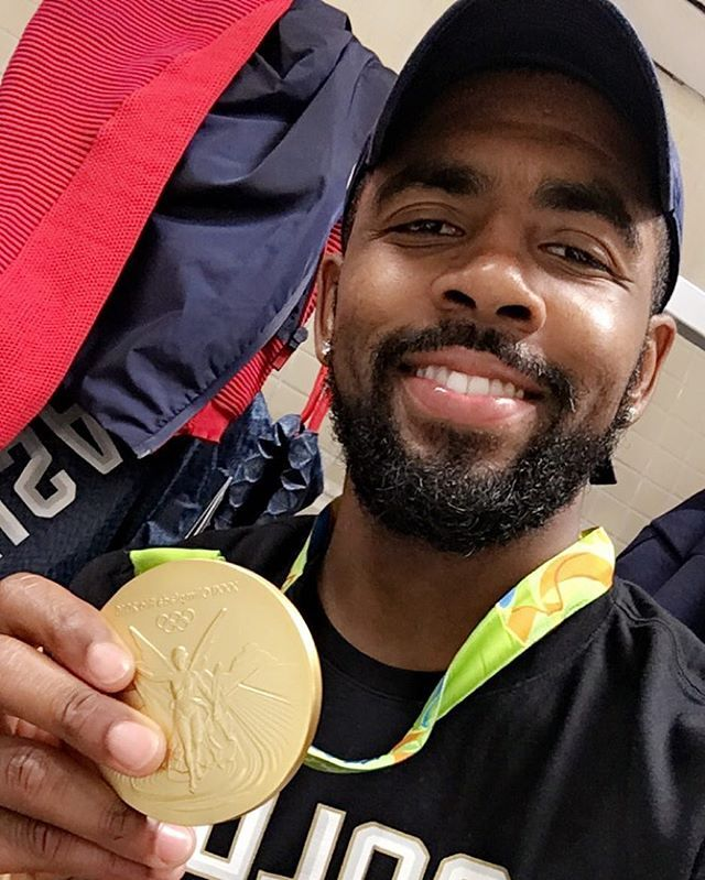 A NBA Championship and a Gold Medal. Kyrie Irving is living that life.
