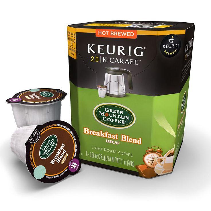 Keurig® KCarafe™ Pod Green Mountain Coffee Breakfast