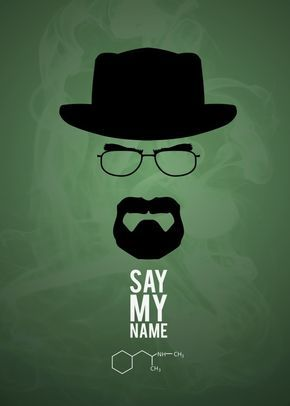 Breaking Bad minimalist poster by Kevin Boyer | metal posters