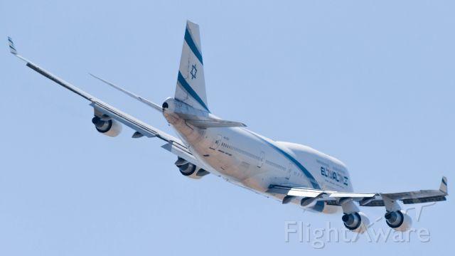 ELY Boeing 747-400 (4X-ELC)