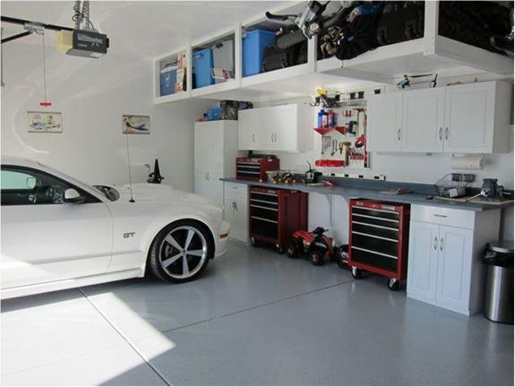 Las 25 mejores ideas sobre garaje mec nico en pinterest y - Pintura de garaje ...