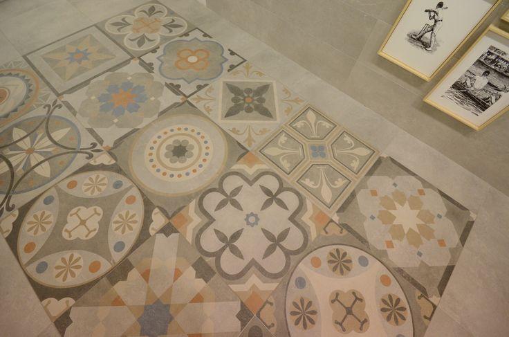 Avenue Deco porcelain tiles 60x60 cm. | Avenue series | Arcana tiles | Arcana Ceramica