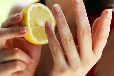 Whiten Nails at Home