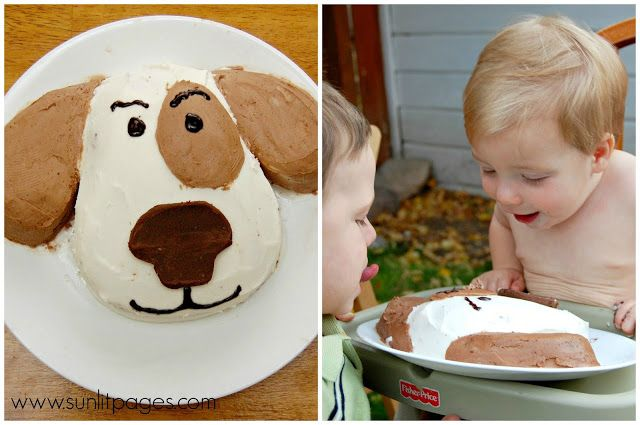 Puppy dog cake - one of 15 Awesome Birthday Cakes for Kids