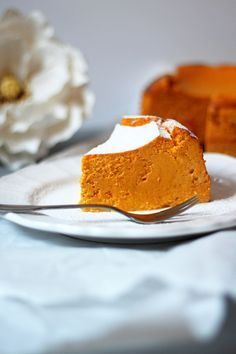 Rezept für Kürbis Cheesecake / Pumpkin Cheesecake Recipe