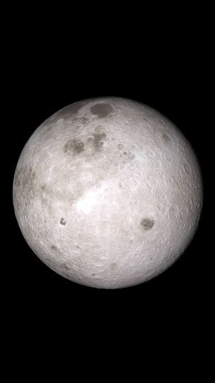 Far side of the Moon. Image credit: NASA's Scientific Visualization Studio