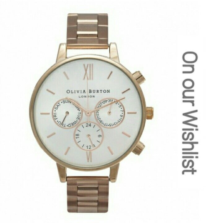 Chrono Rose Gold vintage inspired watch