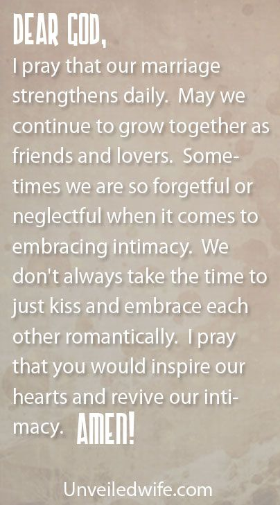 Prayer Of The Day – Kissing My Spouse by @unveiledwife