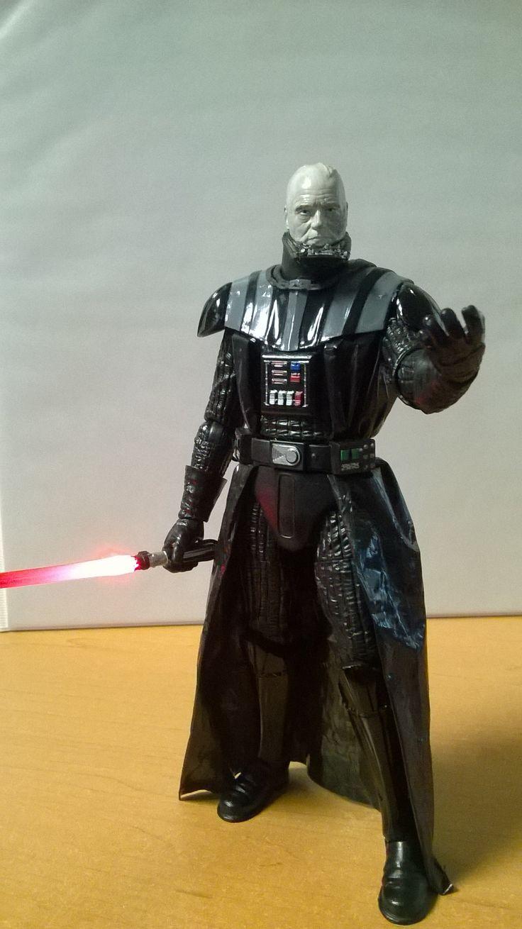Darth Vader Black Series Custom 07