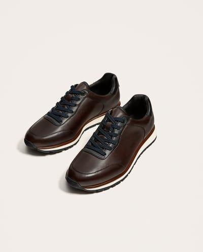 Zapatos Combinado Deportivo Básicos Piel Complementos Hombre Y N0vmnO8yPw