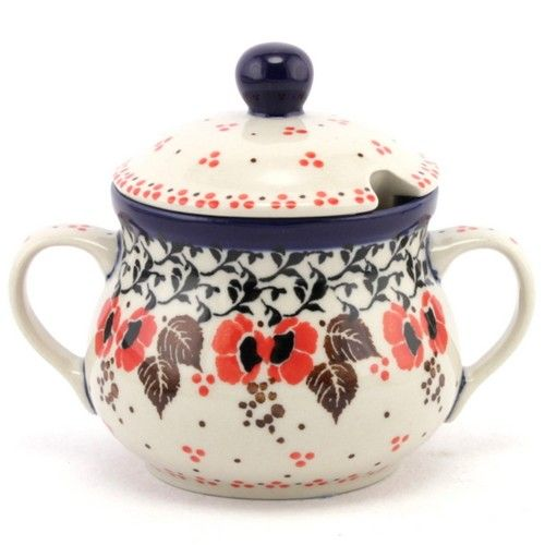 $25.99 Sugar bowl #203 | Slavica Polish Pottery