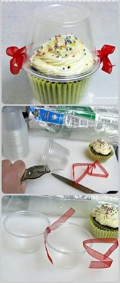 Embalagem para cupcakes | MEU MUNDO CRAFT