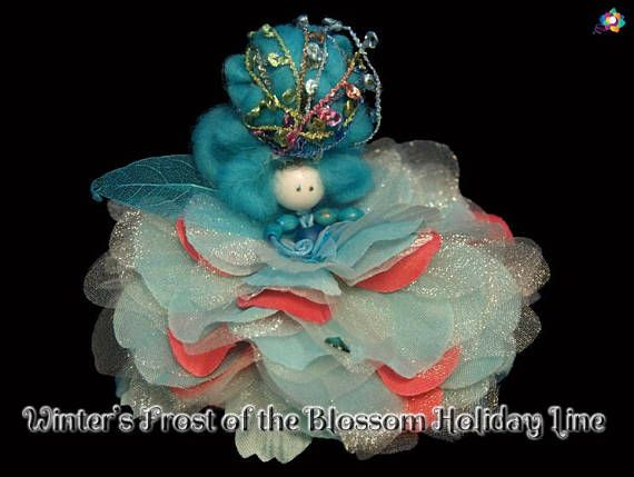Winter's Frost of the Blossom Holiday Line Fairy Faerie