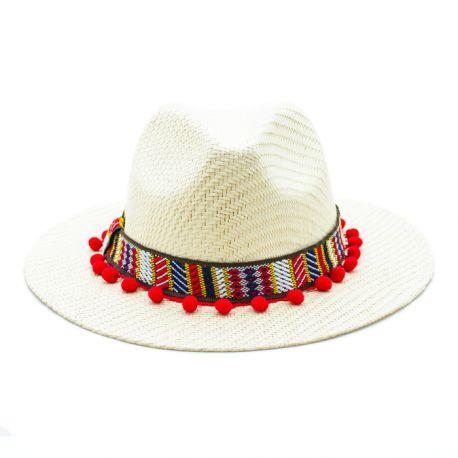 Sombrero Panamá Paja Assam
