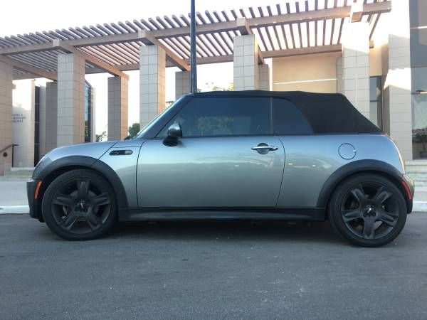2005 MINI COOPER S CONVERTIBLE SUPERCHARGED