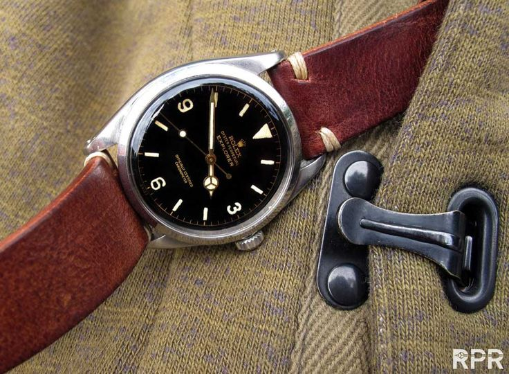 Rolex UK Military Vintage Rolex Explorer - Rolex Passion Report