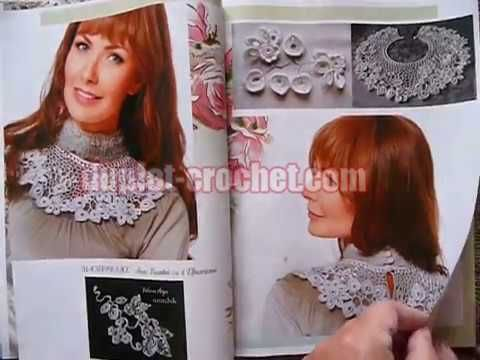 February 2017 Zhurnal MOD 606 crochet n knit patterns book from www.dupl...