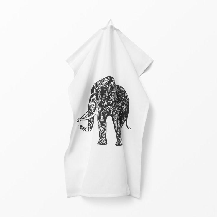 Kökshandduk Elefant 50x70cm 49:-