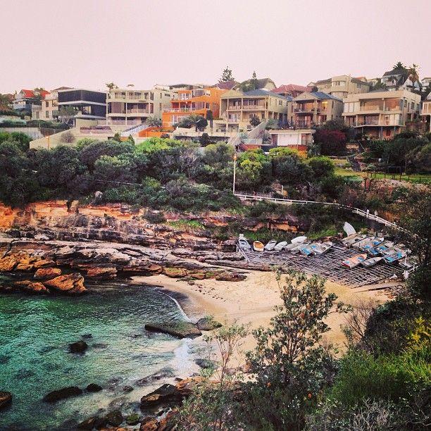 [ @ ] markonthemap Sunday evening walk from #Bondi to #Coogie #sydney #australia