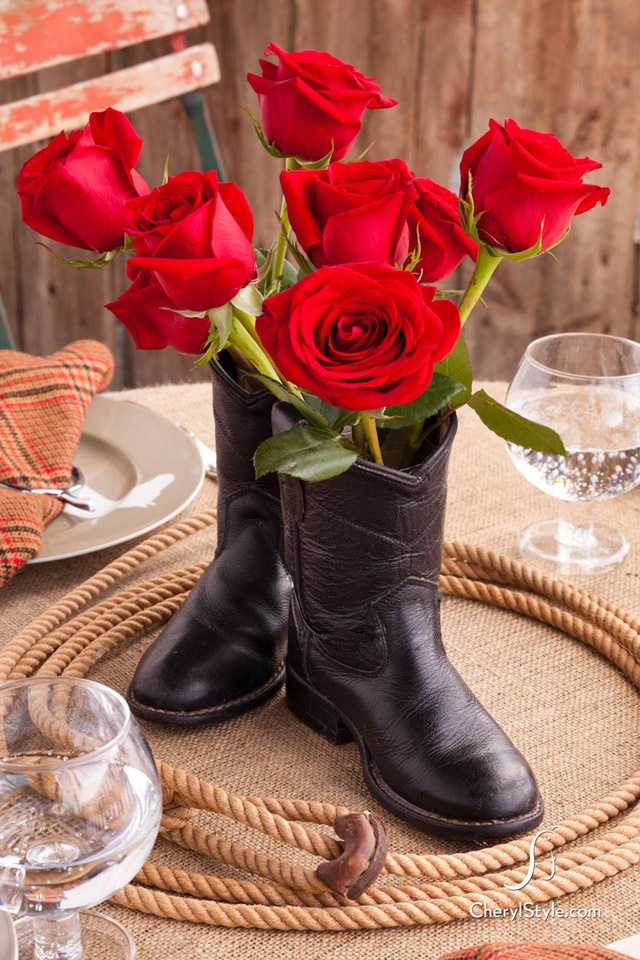 cowboy boot vase wedding decorations 17 best images about cowboy boot vase on 3149