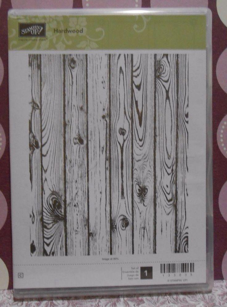 Stampin Up Hardwood Clear Mount Set Of 1 Background