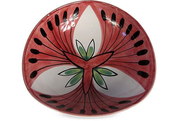 "Elle Keramikk Norwegian Pottery Dish; 6""L x 6""W x 1.75""H"