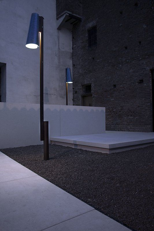 "Palazzo Ducale, Sabbioneta, Mantova A close up of ""lalalampada"" 