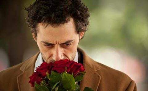 Filippo timi with roses (from A castle in Italy)