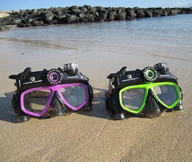 Búvárszemüveg beépített kamerával - az igazán profi víz alatti felvételekért