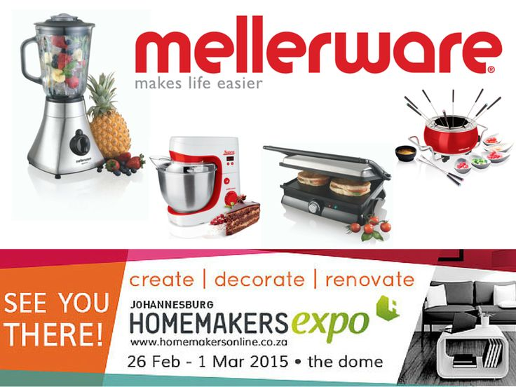 Mellerware at the Johannesburg Homemakers Expo