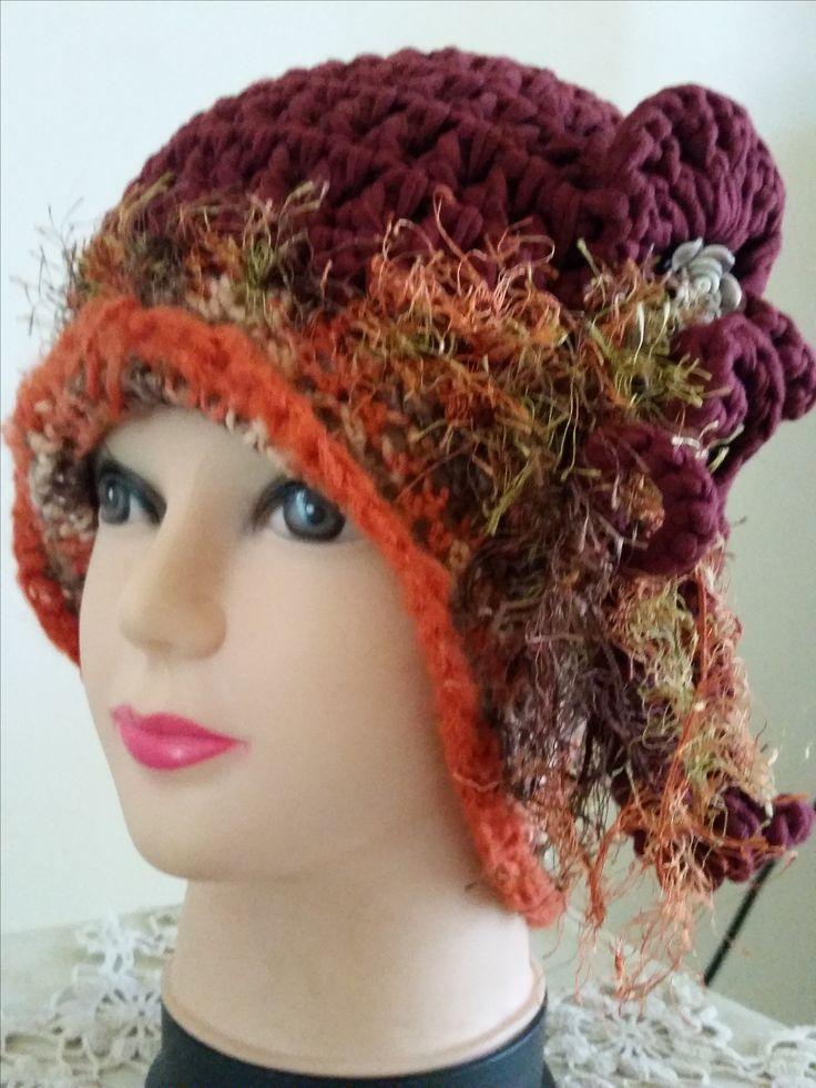 $35 crochet 1920 hat plus postage