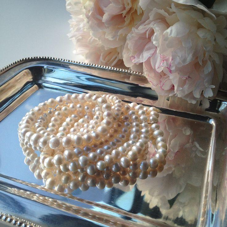 #sweetpearls #bracelet #jewelry #pearls #style #design #fashion