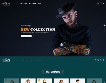 """Check out new work on my @Behance portfolio: """"Nova - Fashion Ecommerce Template"""" http://be.net/gallery/53570939/Nova-Fashion-Ecommerce-Template"""
