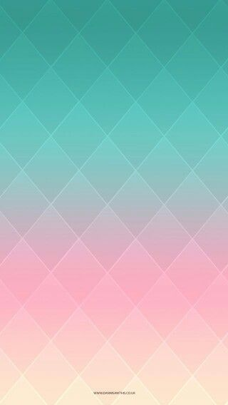 Turquoise And Coral Arrow Background