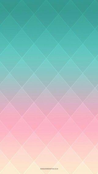 Pink Mint Wallpaper