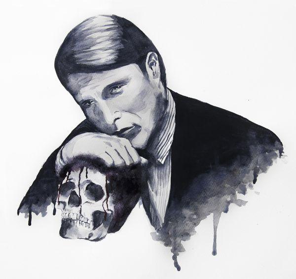 Hannibal Art Print  Mads Mikkelsen