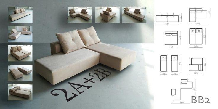 Risultati immagini per divano angolare piccolo misure | Casa ...