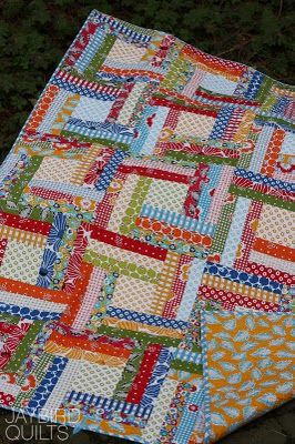 Off the rails --- by jaybird quilts