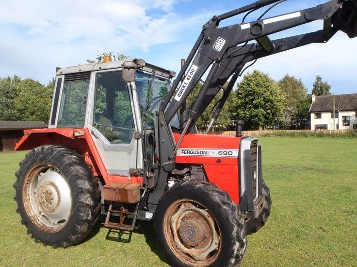 Massey Ferguson 690 Farm Loader Tractor For Sale