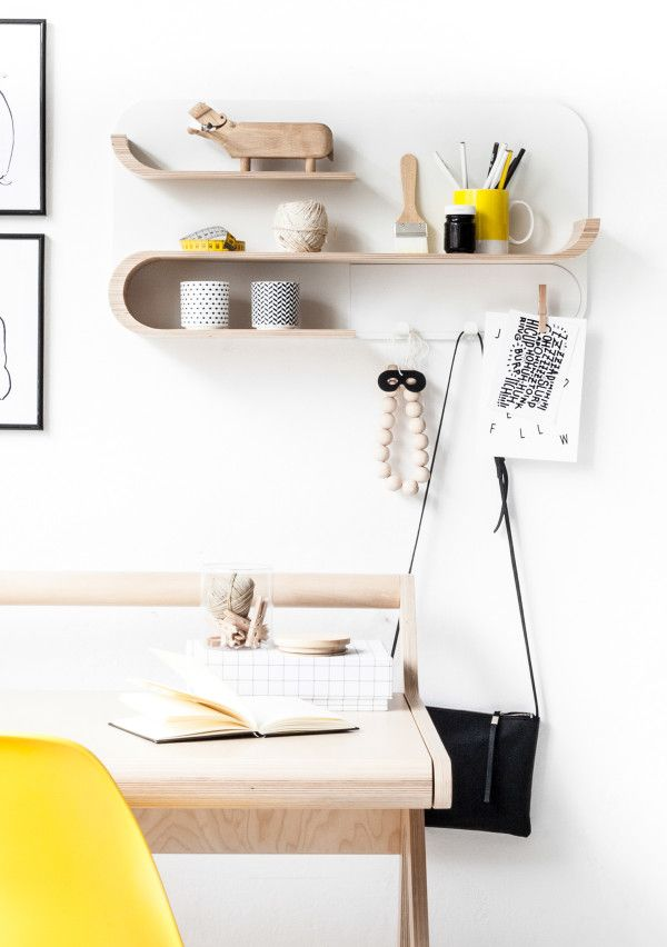 Customizable shelving collection by Rafa-kids