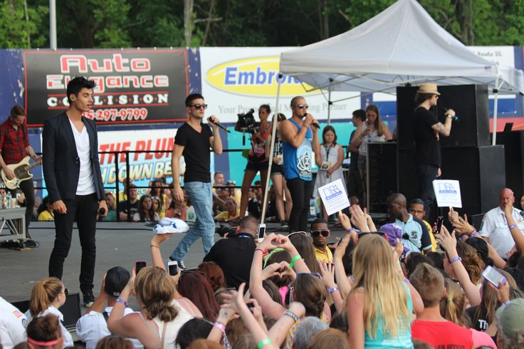 #TheWanted performs at KFest 2013 at Dutchess Stadium, located in Wappingers Falls, NY.