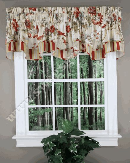 17 Best Images About Layered Valances On Pinterest