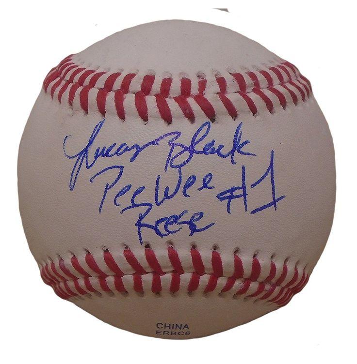 Lucas Black Autographed Rawlings ROLB1 Baseball w/ Inscription, Proof Photo