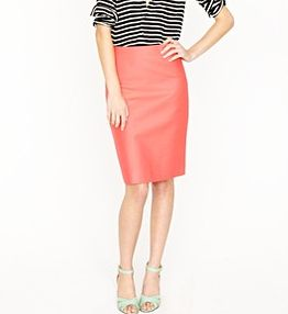 21 best Coral Pencil Skirt images on Pinterest