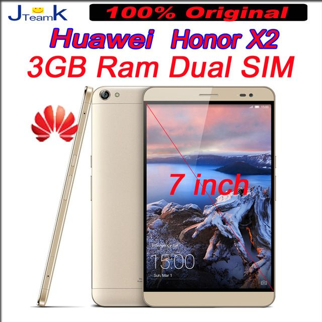 Huawei Honor X2 Mediapad x2 GEM-703L Android 5.0 4G LTE phone GEM 703L Octa Core 2.0GHz 3GB Ram 7inch 1920*1200 pix screen Huawei Honor X2 Mediapad x2 GEM-703L Android 5.0 4G LTE phone GEM 703L Octa Core 2.0GHz 3GB Ram 7inch 1920*1200 pix screen To Buy Or See Another Product US $289.99-344.98 /piece  Click On This Link  http://goo.gl/EuGwiH