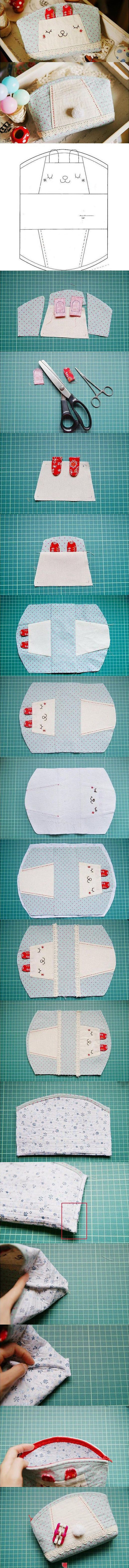 Might not make a bunny bag but this is a nice template for a smallish purse.